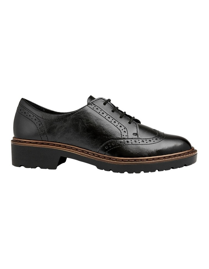 ARA RICHMOND BLACK CRINKLED PATENT LOAFER image 1
