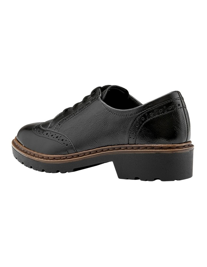 ARA RICHMOND BLACK CRINKLED PATENT LOAFER image 2