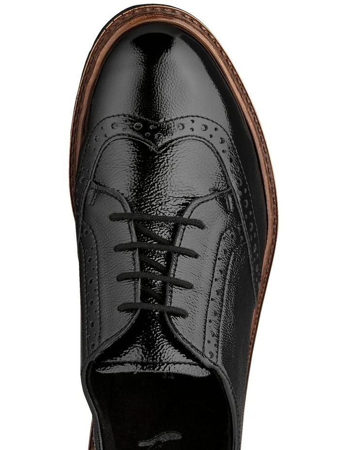 ARA RICHMOND BLACK CRINKLED PATENT LOAFER image 3