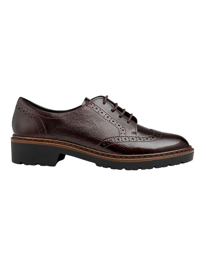 ARA RICHMOND BURGUNDY CRINKLED PATENT LOAFER image 1