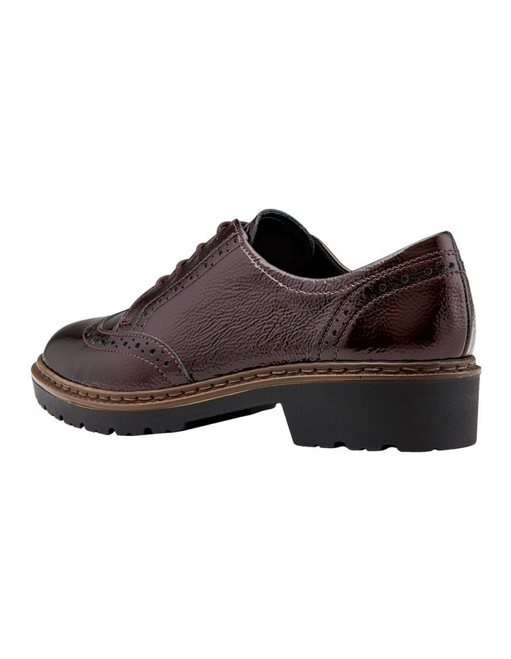 ARA RICHMOND BURGUNDY CRINKLED PATENT LOAFER image 2
