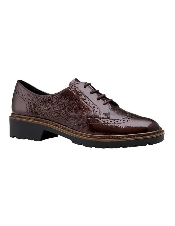 ARA RICHMOND BURGUNDY CRINKLED PATENT LOAFER image 4