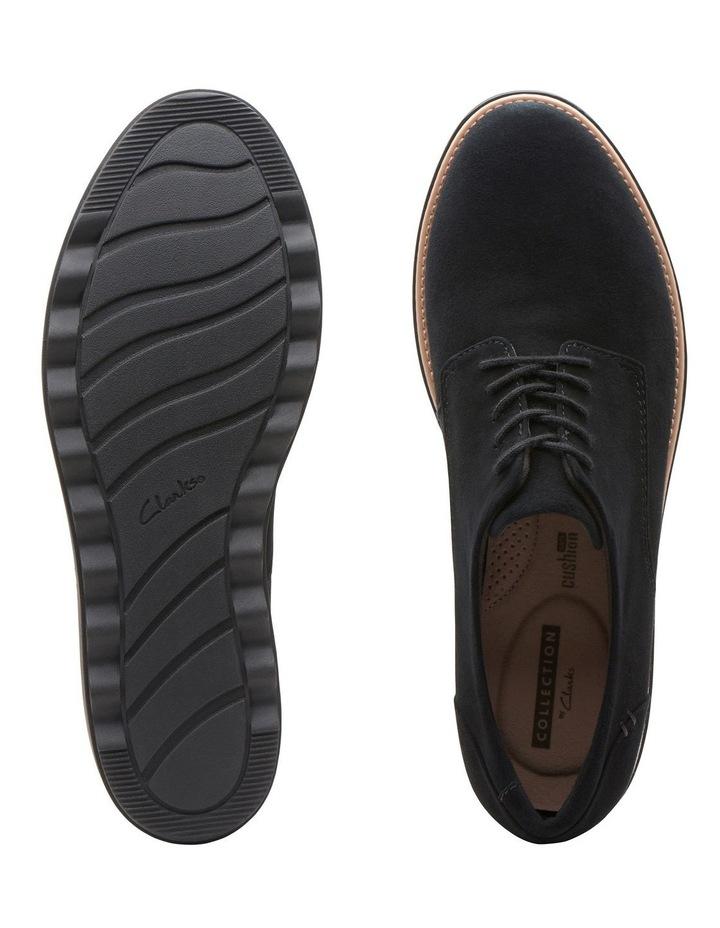 Clarks Sharon Noel Black Nubuck Flat Shoe image 7