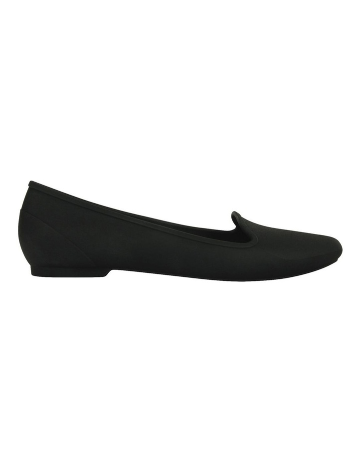 Black Flat Shoe Crocs EVE 203433 image 1