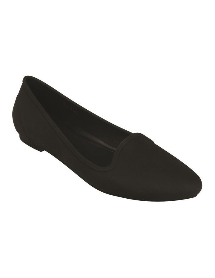 Black Flat Shoe Crocs EVE 203433 image 2