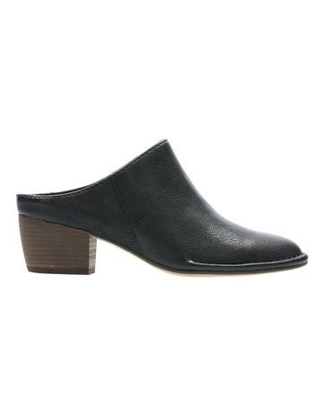 5dd5d8e7ad5e1 ClarksClarks Spiced Isla Black Leather Heeled Shoe. Clarks Clarks Spiced  Isla Black Leather Heeled Shoe