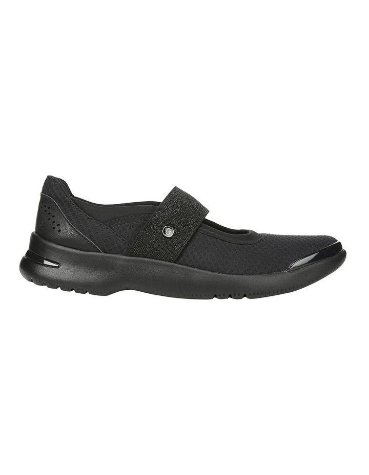 Athena Black Flat Shoe image 1