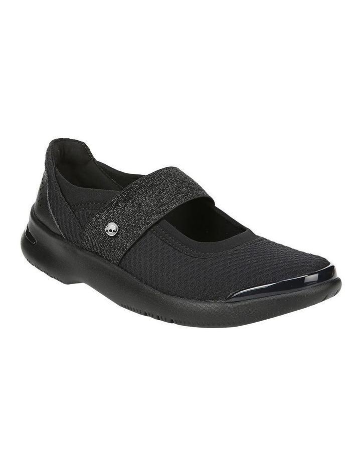 Athena Black Flat Shoe image 2