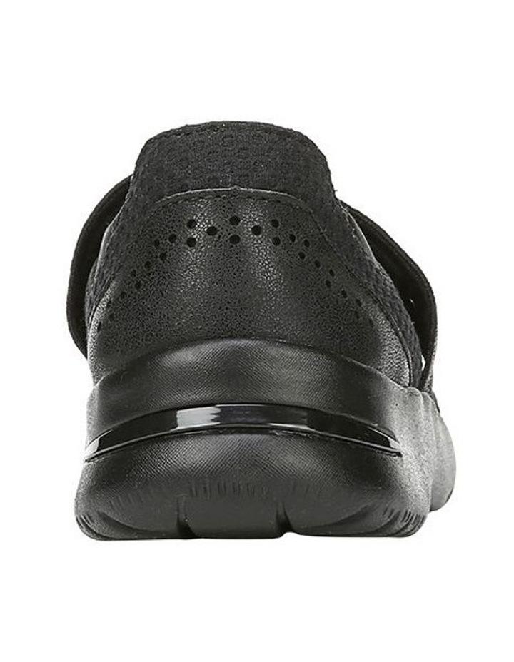 Athena Black Flat Shoe image 3