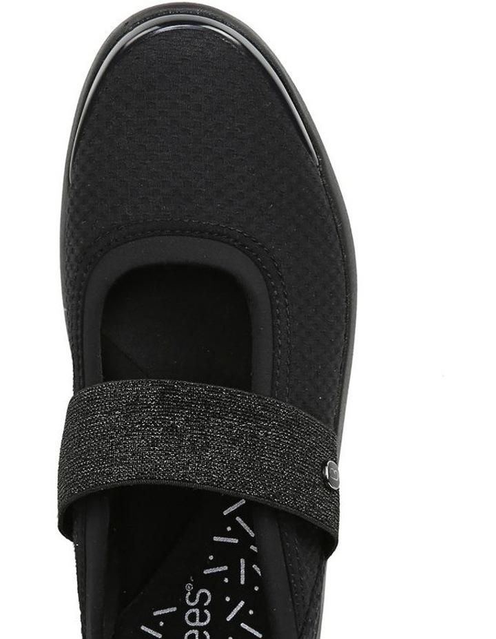 Athena Black Flat Shoe image 4