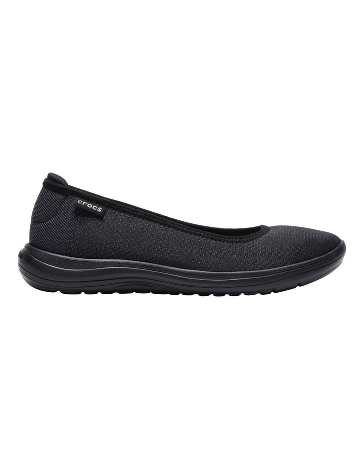 Reviva 205880 Black/Black Flat Shoe image 1