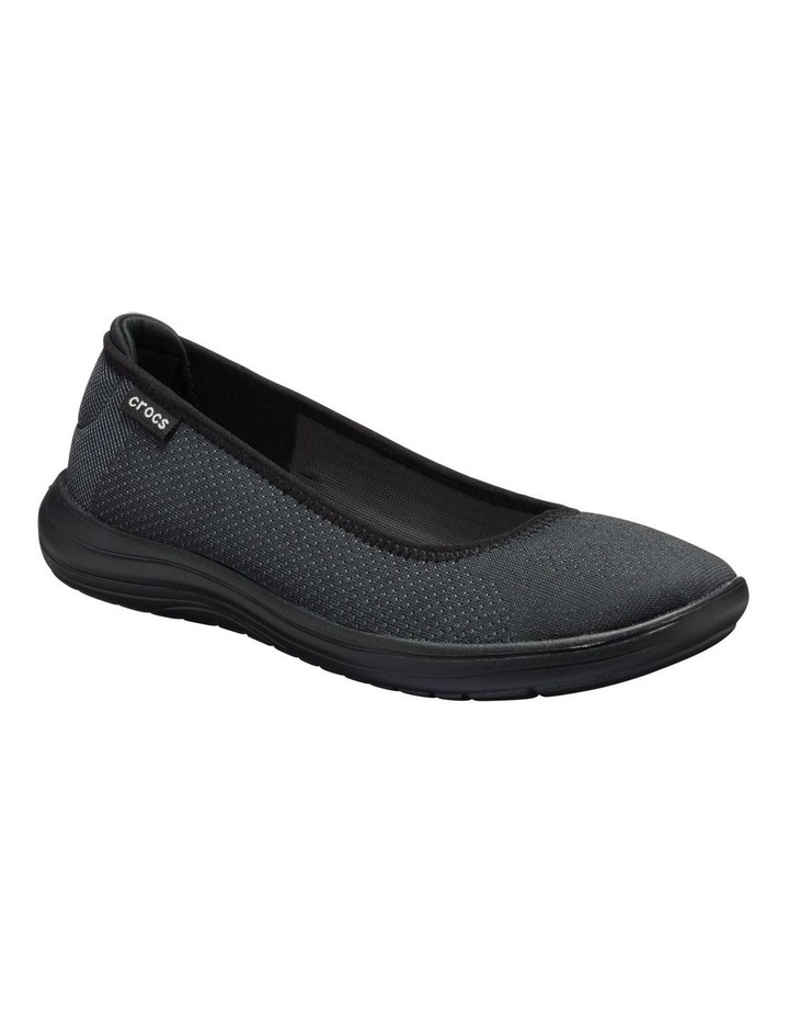 Reviva 205880 Black/Black Flat Shoe image 2