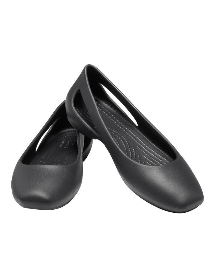 Sloane 205873 Black Flat Shoe image 3