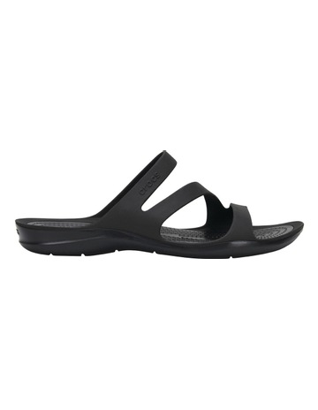 acfd2c423 CrocsSwiftwater Sandal With Black Black Sandal. Crocs Swiftwater Sandal  With Black Black Sandal