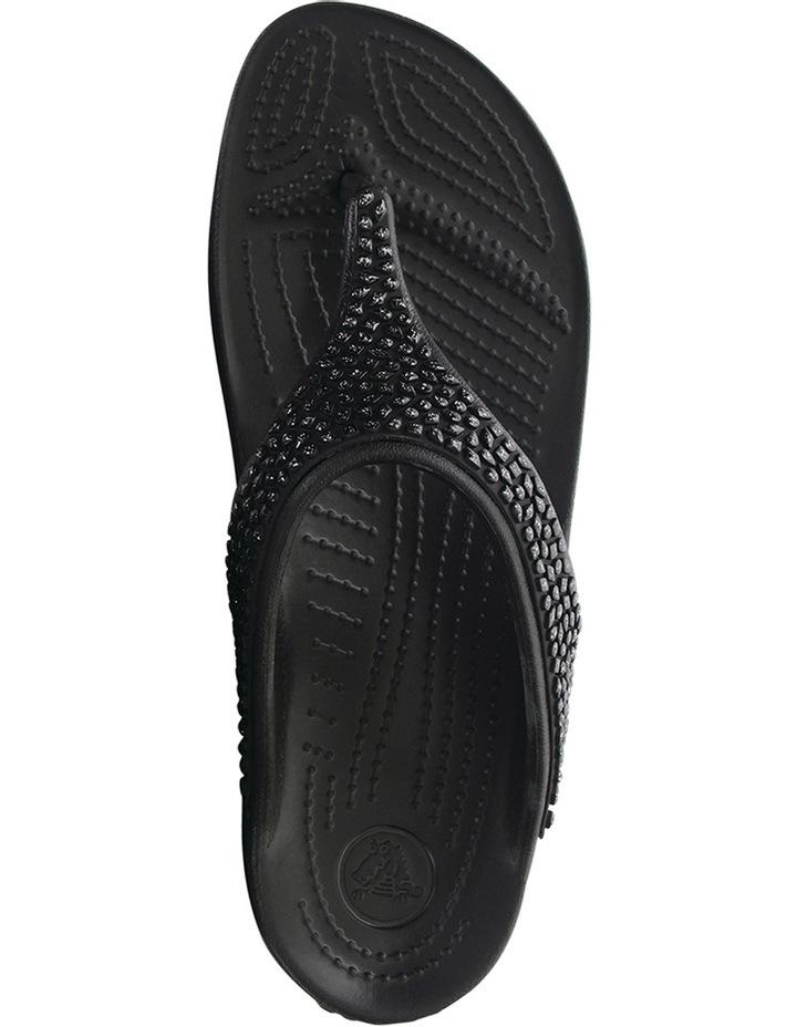 Sloane Embellished Flip Black/Black image 4