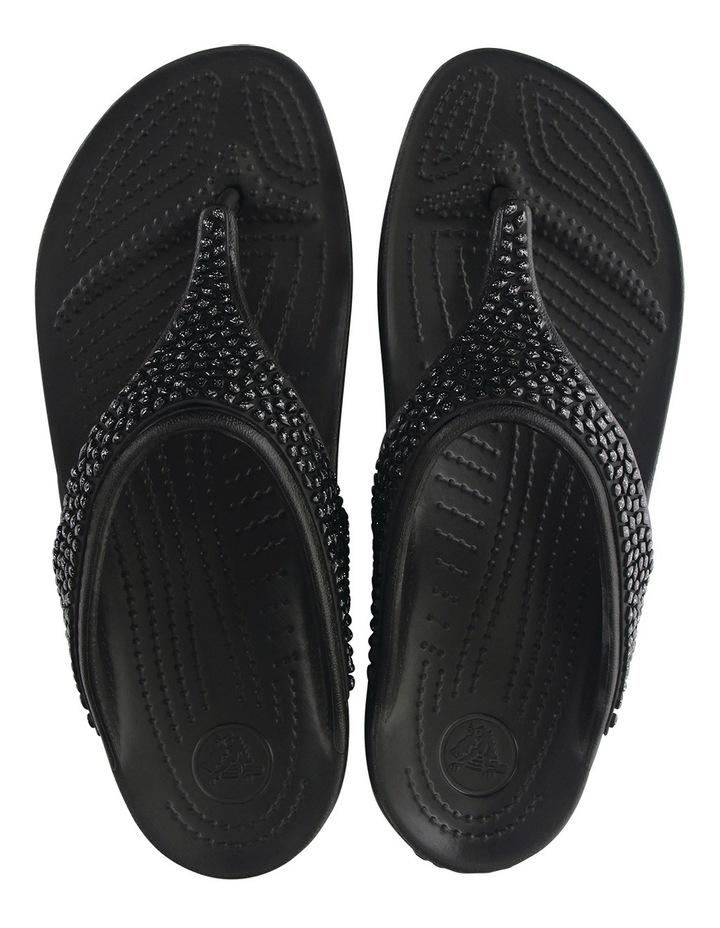 Sloane Embellished Flip Black/Black image 6