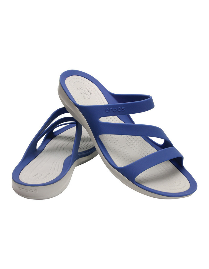 Swiftwater With Blue Jean/Pearl White Sandal image 2
