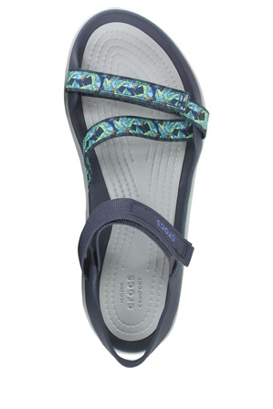 Crocs - Swiftwater Webing With Navy Sandal