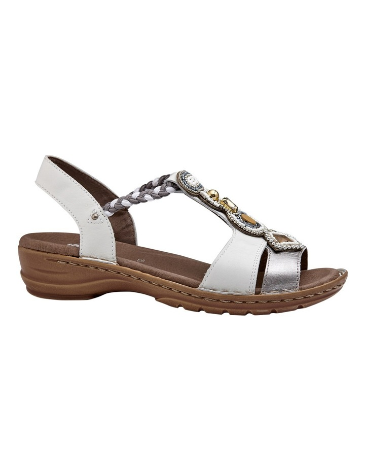 Hawaii Silver/White Sandal image 1