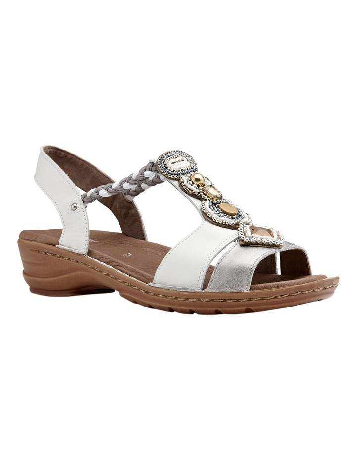 Hawaii Silver/White Sandal image 2