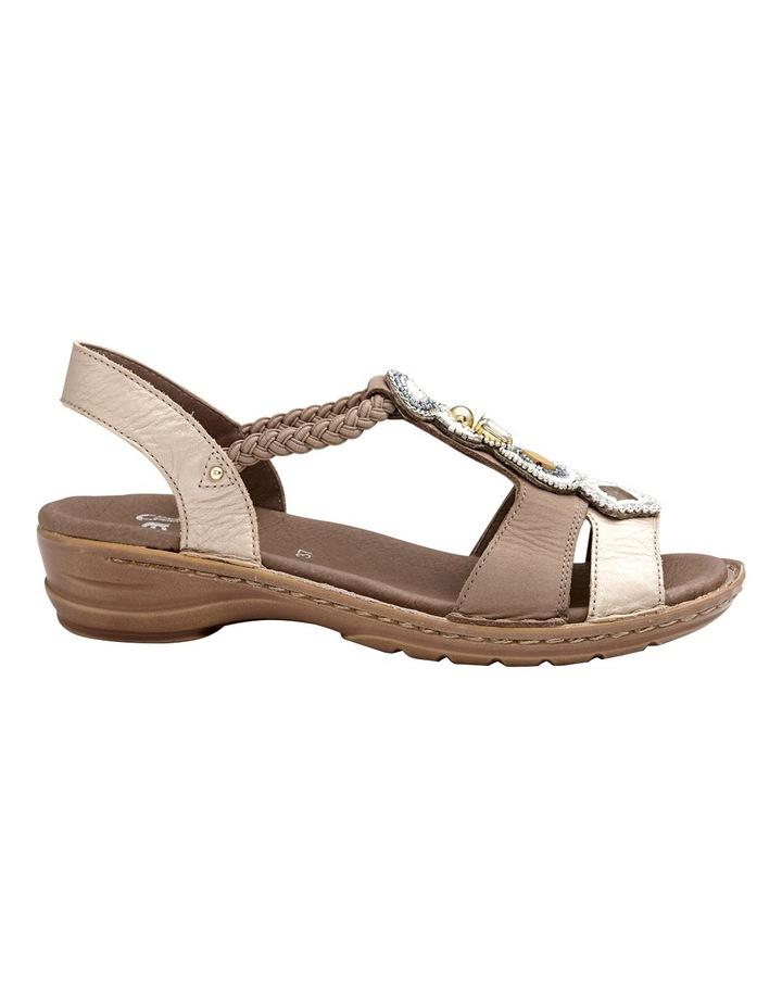 Hawaii Metallic Gold/Taupe Sandal image 1