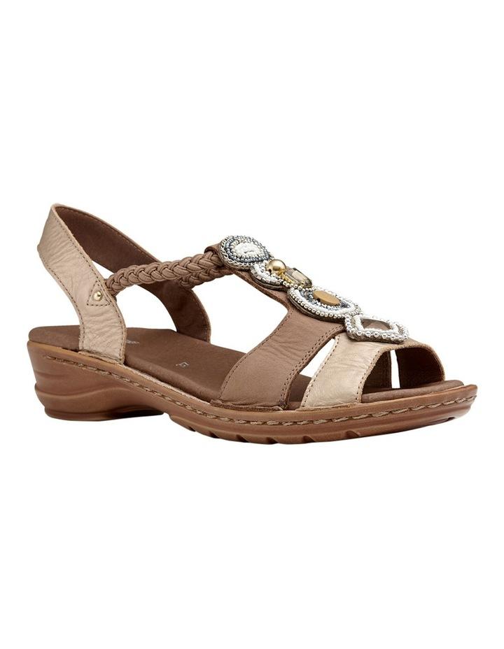 Hawaii Metallic Gold/Taupe Sandal image 2