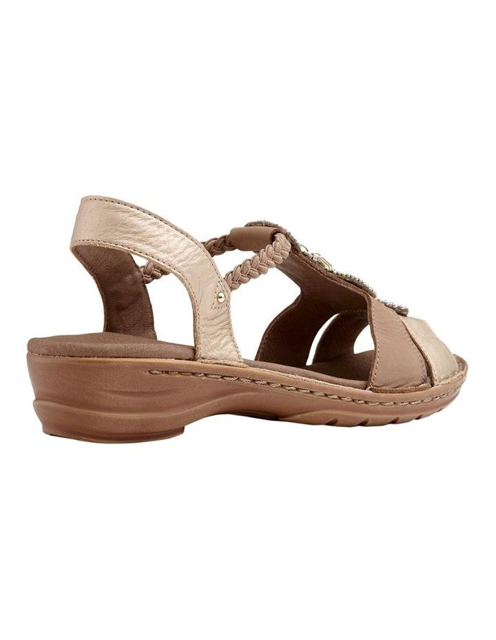 Hawaii Metallic Gold/Taupe Sandal image 3