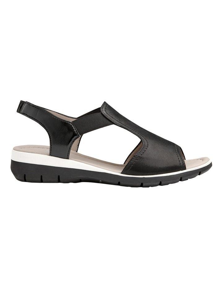 Lido Black Sandal 12-36017-1 image 1