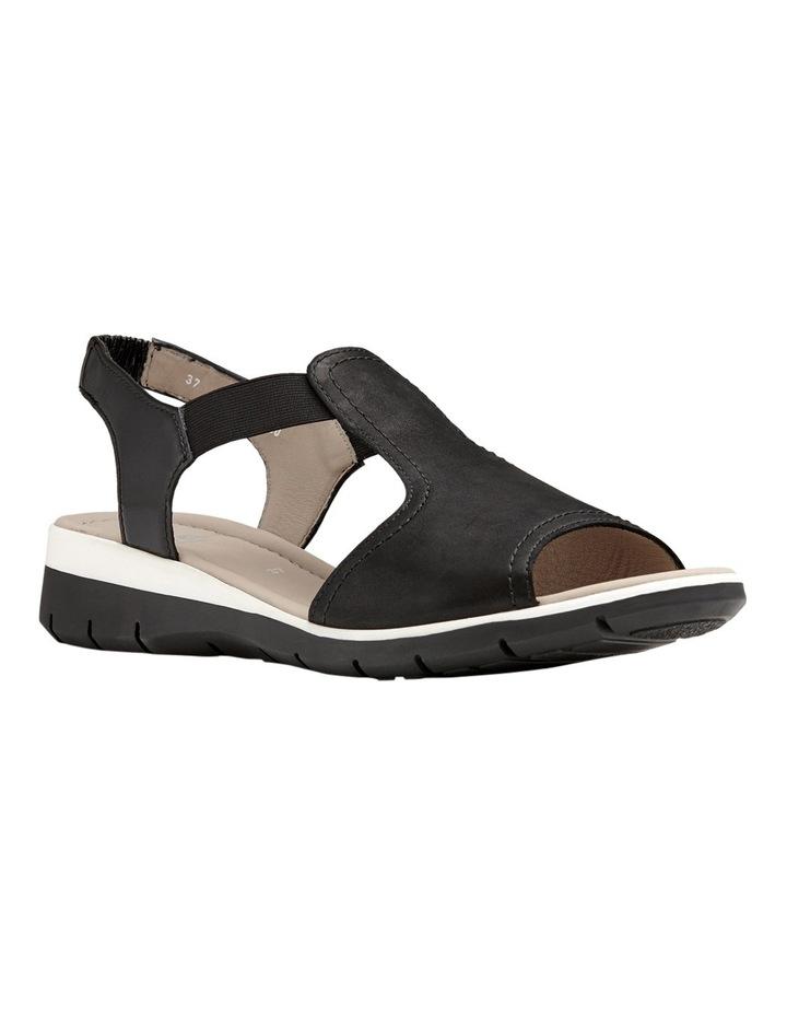 Lido Black Sandal 12-36017-1 image 2