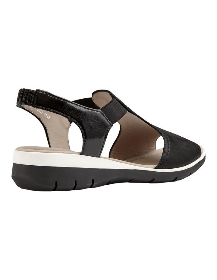 Lido Black Sandal 12-36017-1 image 3