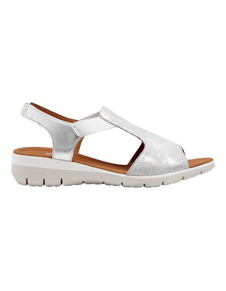 Lido Metallic Silver Sandal 12-36017-14 image 1