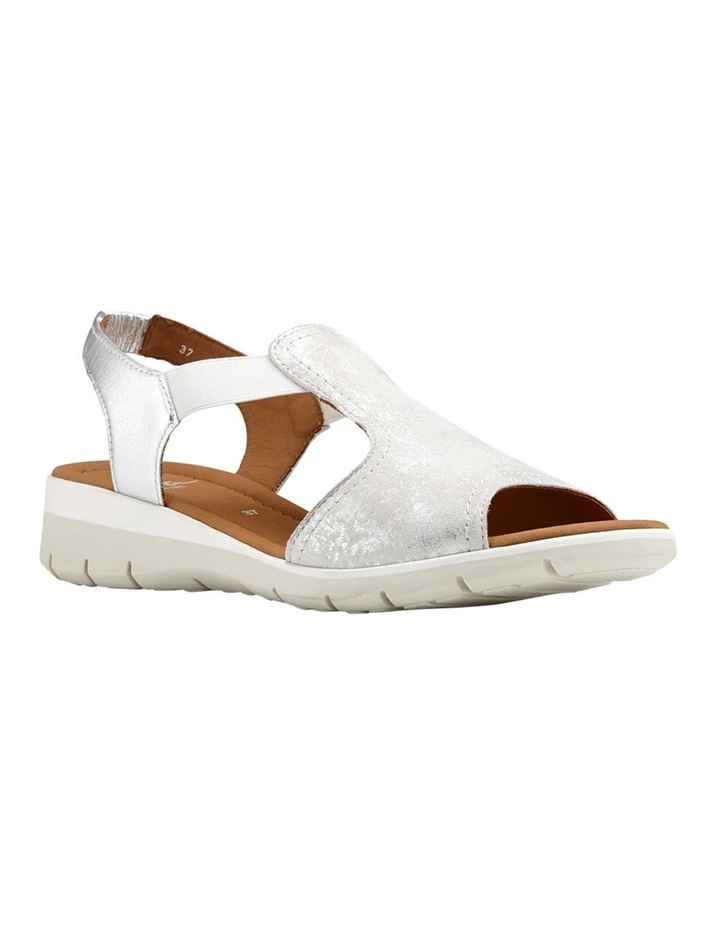 Lido Metallic Silver Sandal 12-36017-14 image 2