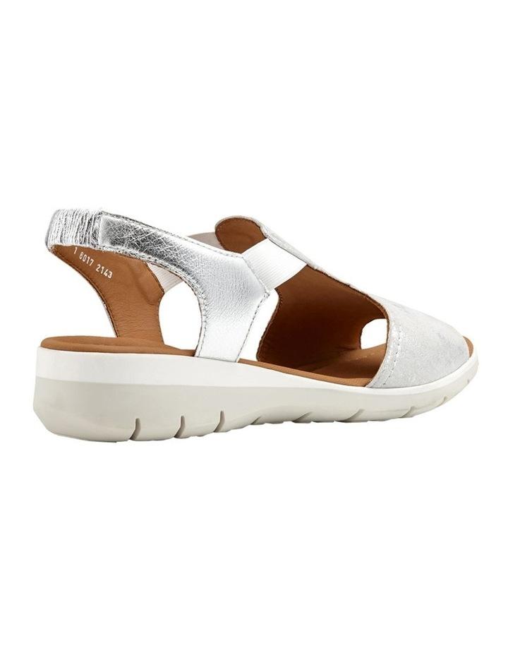 Lido Metallic Silver Sandal 12-36017-14 image 3