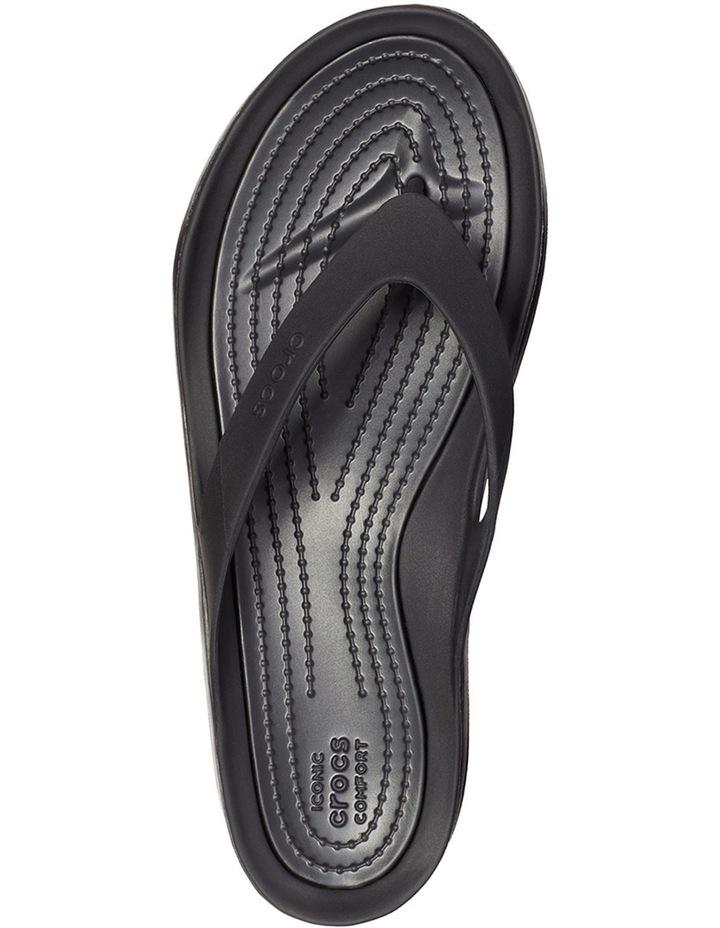 Swiftwater Flip Black/Black Sandal W 204974 image 4