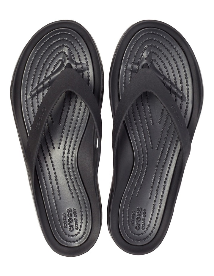 Swiftwater Flip Black/Black Sandal W 204974 image 6
