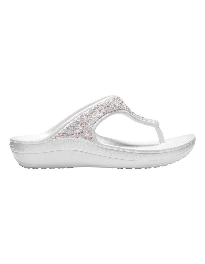 Sloane Embellished Flip Oyster/Multi Sandal 204181 image 1