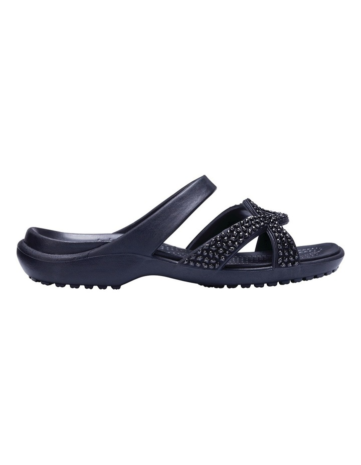 Meleen Twist Diamante Sandal Black/Black Sandal image 1