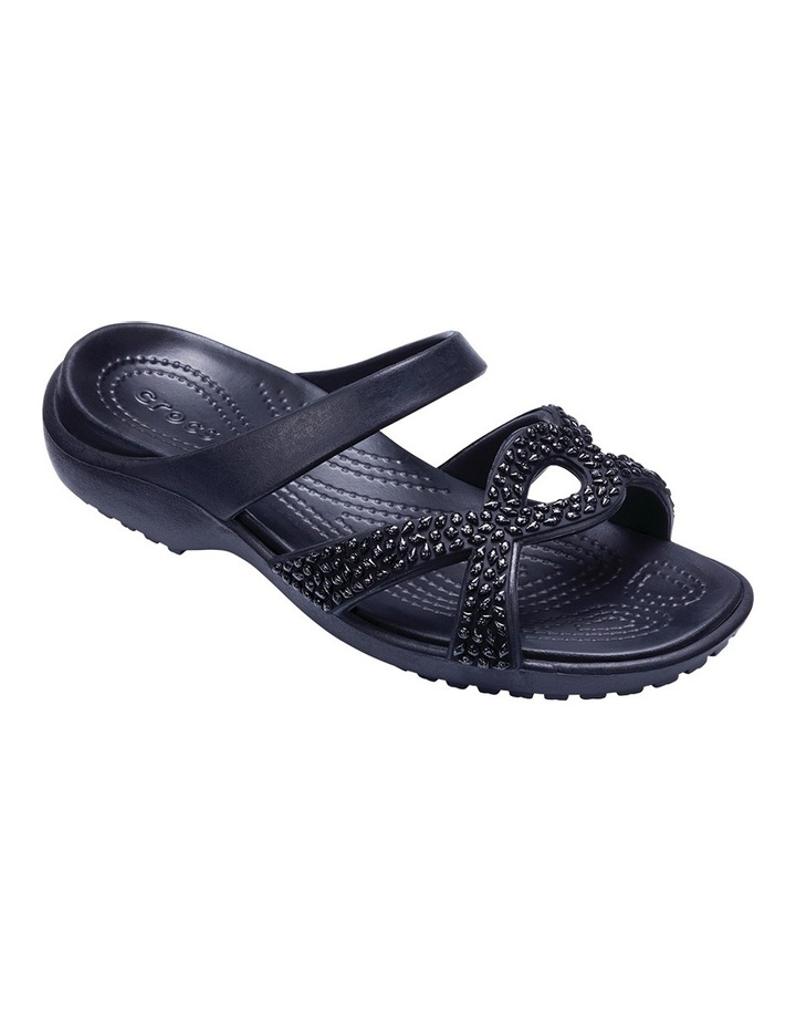 Meleen Twist Diamante Sandal Black/Black Sandal image 2