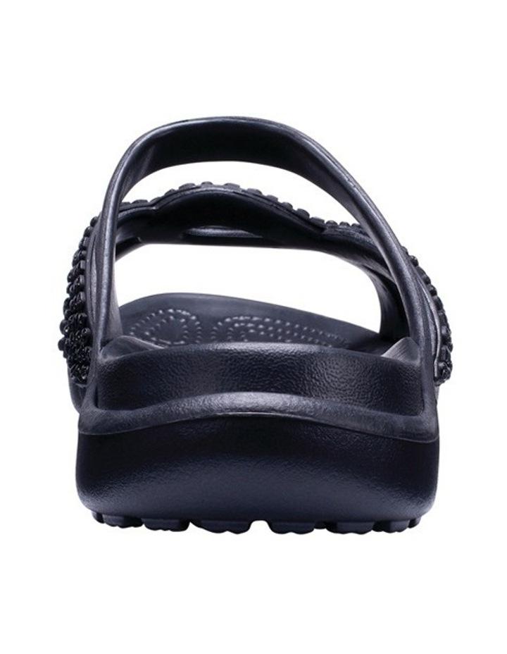 Meleen Twist Diamante Sandal Black/Black Sandal image 3