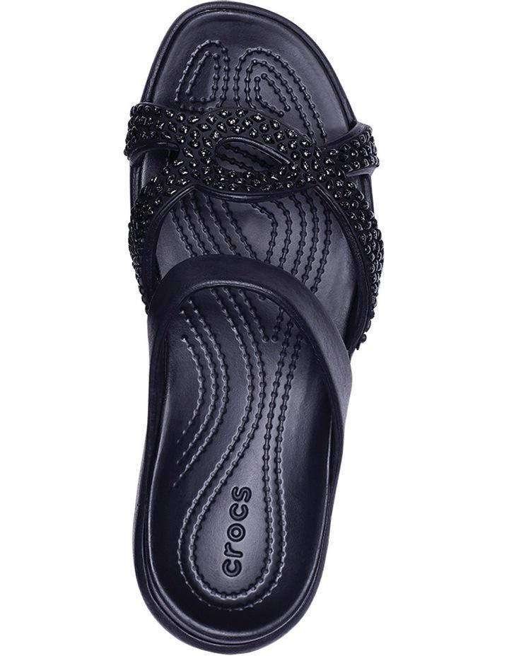 Meleen Twist Diamante Sandal Black/Black Sandal image 4