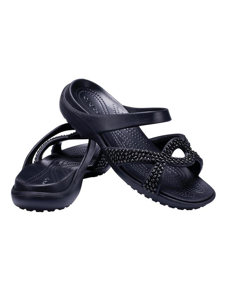 Meleen Twist Diamante Sandal Black/Black Sandal image 5