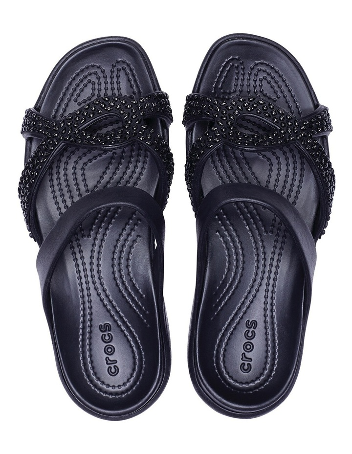 Meleen Twist Diamante Sandal Black/Black Sandal image 6