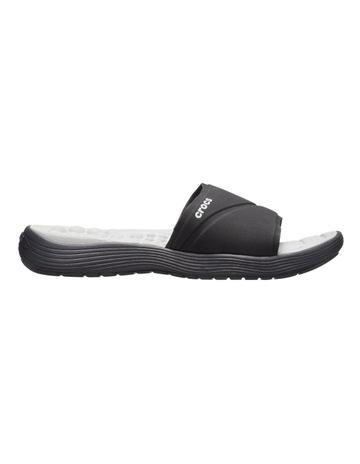e82ddffb4fb0 Crocs Reviva Slide Black Sandal 205474