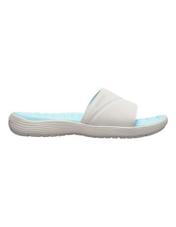 966f1bbf87ff CrocsReviva Slide Pearl White Sandal 205474. Crocs Reviva Slide Pearl White  Sandal 205474