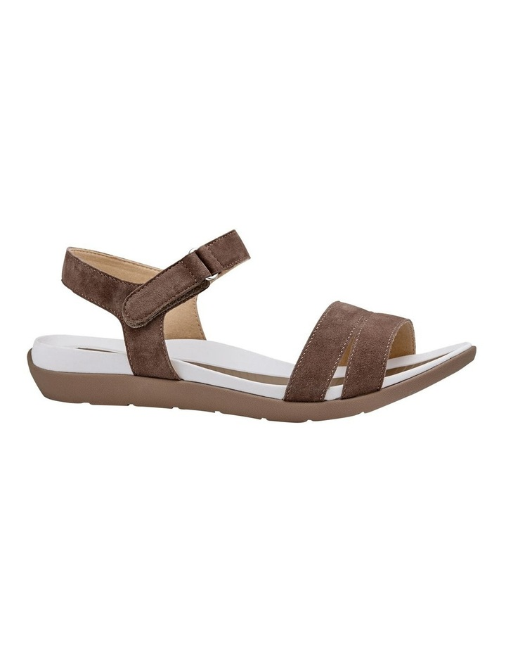 Nepal 35917 Taupe Suede Sandal image 1
