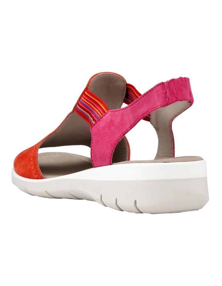 Lido 36017 Coral/Pink Sandal image 3