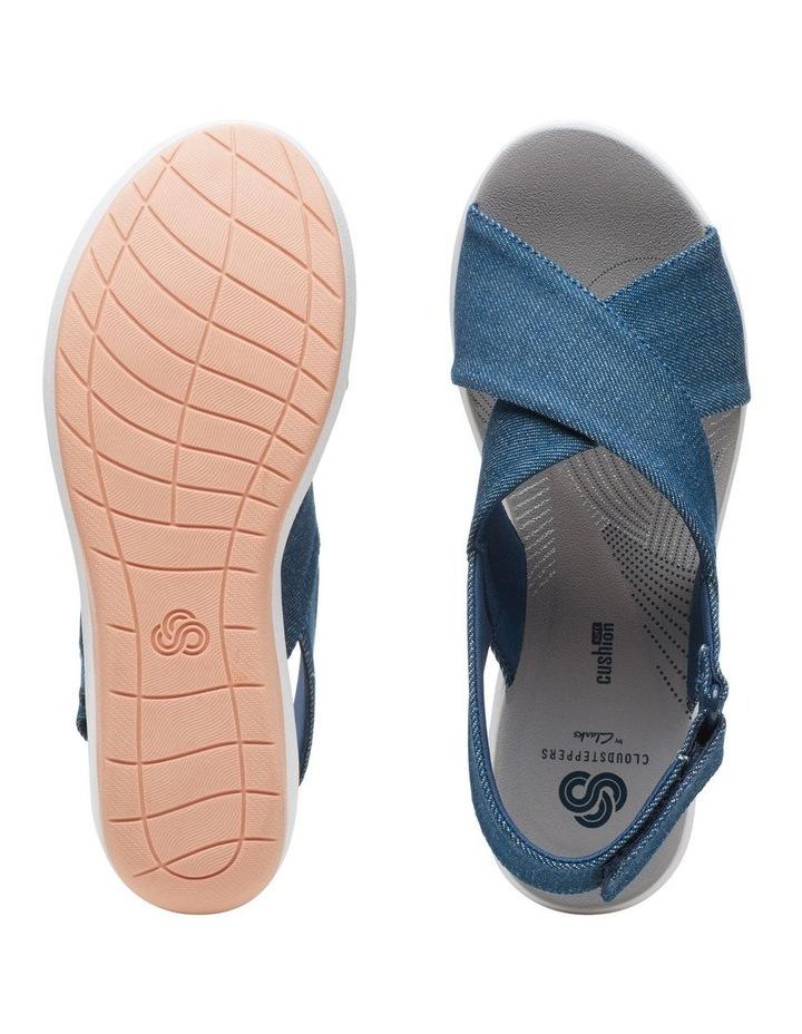 Step Cali Cove Denim Textile Sandal image 7