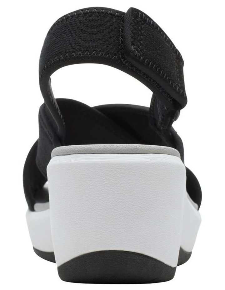 Step Cali Cove Black Textile Knit Sandal image 6