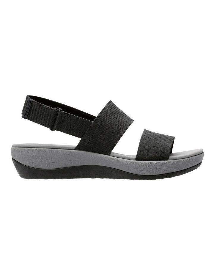 Arla Jacory Black Elastic Sandal image 1