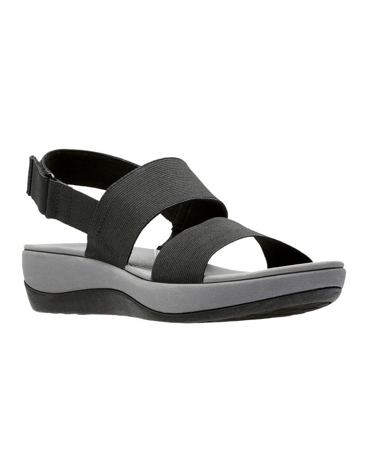 Arla Jacory Black Elastic Sandal image 2